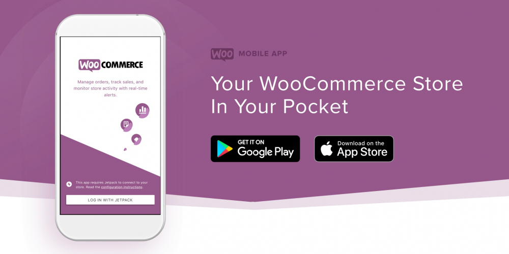 Se dina Woocommerce beställningar via app i mobilen