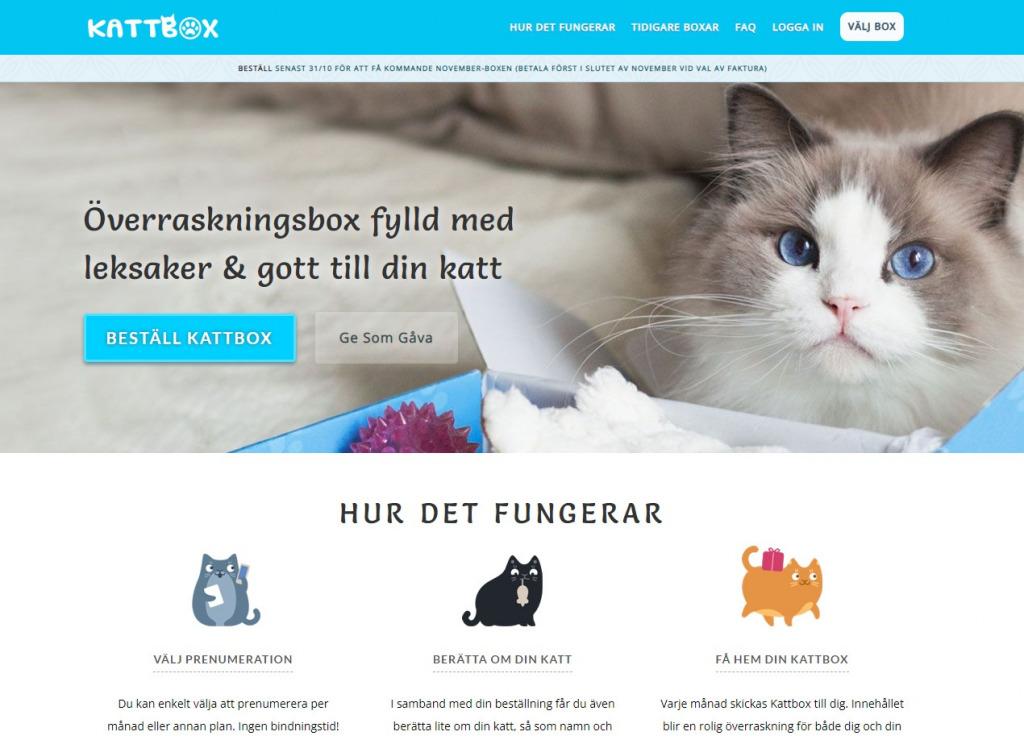 Kattbox   WordPress-utveckling med WooCommerce och WooCommerce Sunscriptions